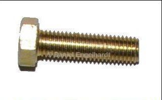 Screw M7 x 25, yellow passivated
