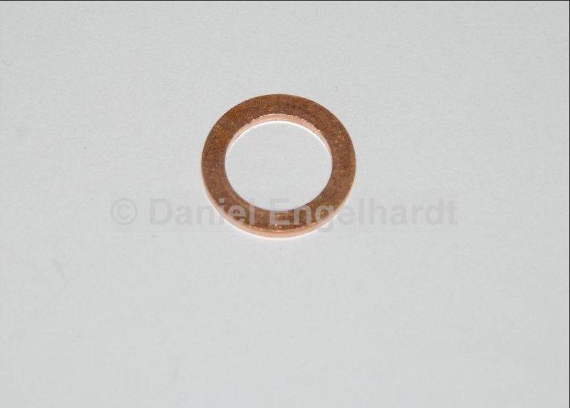joint cuivre de flexible de frein  10x16x1mm
