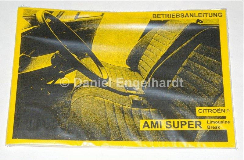Betriebsanleitung / Bedienungsanleitung Citroen Ami Super