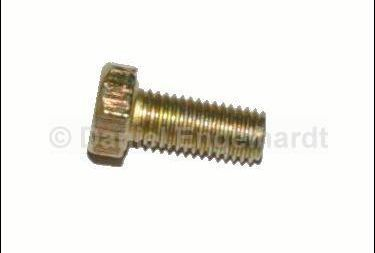 Screw M7 x 16,  yellow passivated