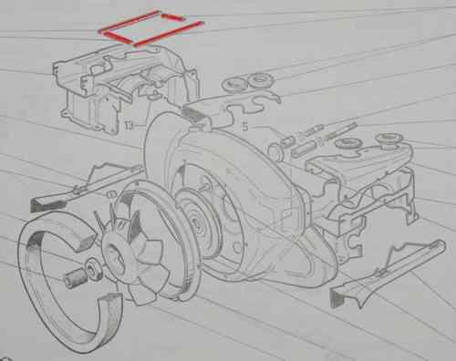 pour moteur de Citroen GS GSA AMI SUPER Pochette de JOINTS NEUFS 1788 SEALS