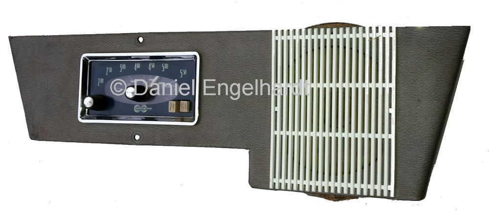 Radioen Continental Edison Citroen Ami 6 / complete panel / light ...